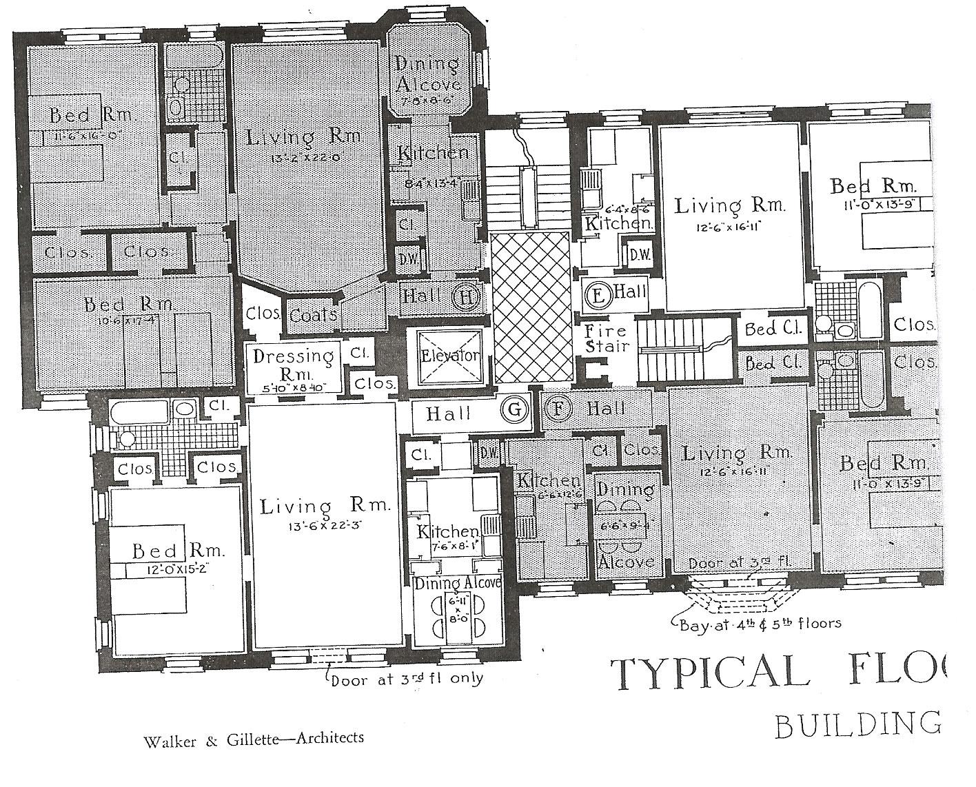 Nyc Building Floor Plans - Home Flooring Ideas
